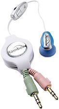 Rainbow Skype Web Internet Rainbow R9310P  pink Web Earbud Earphones