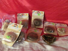 """9 Dolls Wigs 4 1/2""""  Brown & Blond Pigtail Wig & Long Wig NEW"""