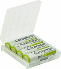 Camelion AA NH Solar Rechargeable Batteries 600mAh (4 Counts)