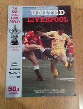 Man Utd v Liverpool fa cup semi final replay 17-4-1985 (512c)