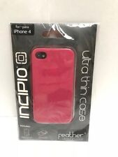 Incipio Case Compatible with iPhone 4 4S Feather Ultra Thin Case Pink-  New