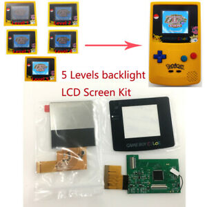 High Light Backlight LCD Screen Kit For Nintendo Game Boy Color GBC Game Console