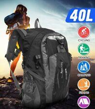 40L Grande Impermeabile Campeggio Borsa Giro Zaino All'aperto Bagaglio Unisex