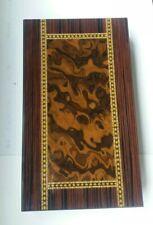 Italian wooden backgammon