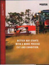 "Hesston Massey Ferguson ""1300 Series"" Disc Mower Conditioners Brochure Leaflet"