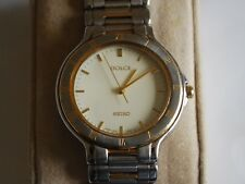 Nice Vintage Seiko DOLCE 5E31 Two Tone Men's Dress Watch
