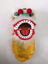 "4.5"" MINI CHINESE NEW YEAR LION DRAGON HEAD DANCE DECORATION PERFORMANCE SHOW"