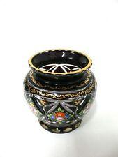 Biedermeier Überfangglas -R25