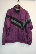RETRO VINTAGE ADIDAS ZIP THROUGH SKI JACKET IN PURPLE, SIZE L, VGC