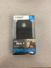 NEW Trident Aegis Series Case for Motorola Moto E - Black