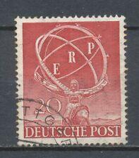 DEUTSCHE POST BERLIN 1950 - E.R.P. - MARSCHALL-PLAN  GEBRUIKT              Hk44f