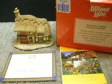 Lilliput Lane The Toy Shop Village Shop Collection 1994 Nib & Deeds #690