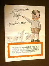 Pubblicità del 1924 Magnesia Polli Purissima Farmaceutica Polli S.A. Milano