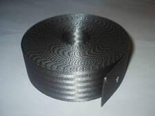 Seggiolino Auto Cintura Cinghia Cinturino in Tessuto Grigio Rotolo 10 METRI