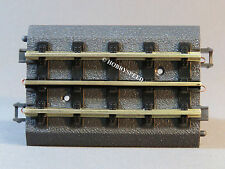 MTH TRACK REAL TRAX TRAIN TRACK fast gray roadbed 4.25 INCH STRAIGHT 40-1017 NEW