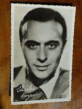 CHARLES BOYER French Actor 1930s Gaslight ALGIERS Fims FOX PC126 Postcard i34