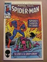 Marvel Tales #179 reprints Amazing Spider-Man #40 Green Goblin 9.2 Near Mint-