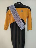Vintage Star Trek:Next Generation Jumpsuit/Costume Youth M. Worf 1992
