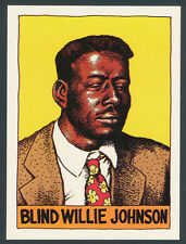 Blind Willie Johnson 1980 Heroes of the Blues card #7