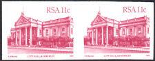 More details for south africa 1982-7 11c cerise, imperforate pair, sg.520b var, um