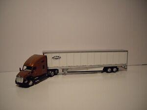 DCP FIRST GEAR 1/64 MENKE LLC KENWORTH T680 WITH SLEEPER AND 53' WABASH DRY VAN