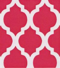 BTY~FABRIC FINDERS 100% COTTON FABRIC~ LARGE QUATREFOIL ~ RASPBERRY ~59