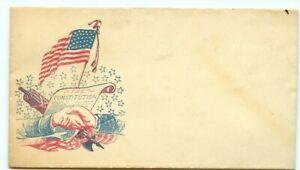The Constitution CIVIL WAR ENVELOPE unused colour ad cover US United States
