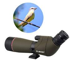 SVBONY65mm Spotting Scope Multi-Coated Optic 20-60x Zoom Refractor 45°View Angle