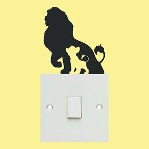 Lion King light switch sticker decal sticker wall art vinyl sticker kid's room