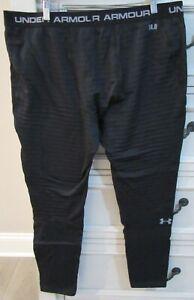 Men's Size 2XL Under Armour ColdGear Base 4.0 Black Fitted Leggings Pants XXL