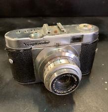 VOIGHANDER VITO B SLR Vintage Retro camera with 2 Lenses