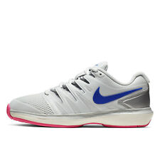 NIKE AIR ZOOM PRESTIGE HC Womens Hard Court Tennis Shoes, Gray / Pink, PICK SIZE