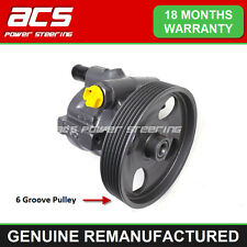 VOLVO V40 1.9 Di 2000 TO 2004 POWER STEERING PUMP (125mm 6 Groove) RECONDITIONED