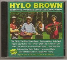 """HYLO BROWN, CD """"BLUEGRASS FAVORITES ON COLLEGE AND CAMPUS"""" NEW SEALED"""
