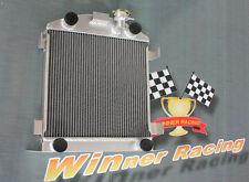 aluminum radiator fit Ford Lowboy chopped w/flathead V8 engine 1932-1939