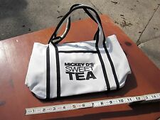 MICKEY D's SWEET TEA duffle-bag gym carrying bag McDonald's fast-food