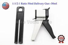 1:1/2:1 Ratio Dental Impression Mixing Cartridge Dispenser Delivery Gun 50ml