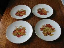 BAREUTHER WALDSASSEN FRUIT DESSERT PLATES SET OF 4