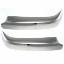 For Ty Tacoma Pre Runner 1998 1999 2000 Front Bumper Trim Chrome Right Amp Left Fits 1998 Tacoma