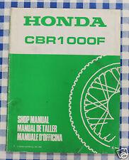 BB 67MM530Z Manual De Taller Suplemento Honda CBR1000F K impresión 1989