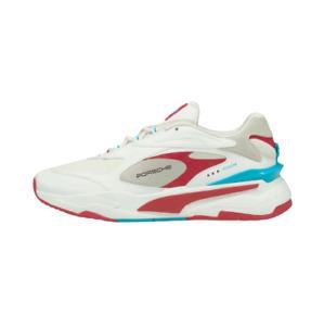 Puma Men's Porsche Legacy RS-Fast Shoes NEW AUTHENTIC White/Scuba Blue 306773-02