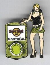 Hard Rock Cafe Pin Closed Montreal Music Girl Ipod 2007 Series pin