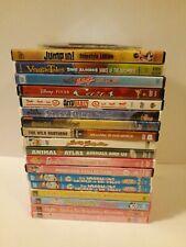 Kids DVD lot of 19 Disney Cars Bratz Strawberry Shortcake Barbie Muppets Scooby