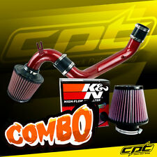 95-99 Dodge Neon SOHC 2.0L 4cyl Red Cold Air Intake + K&N Air Filter