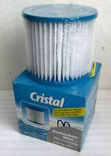 1x Cristal Ersatzfilter Filterkartusche 400640 H10,3cm Ø11,5cm Innen Ø5cm