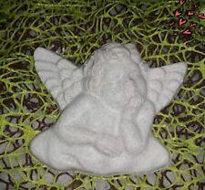 1 auf einer Wolke liegender Engel, Form, Giessform, Länge: 10 cm
