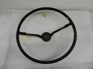 1965-1966 CHEVROLET IMPALA NICE ORIGINAL USED STEERING WHEEL PART GM # 9741875