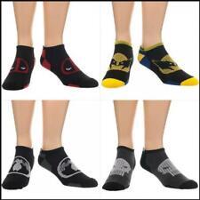 Marvel Comics Logo 4 Pack Ankle Socks Punisher, Wolverine, Deadpool & Venom