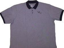 NEW! ROCAWEAR Polo Shirt Mens Big 4X 4XL 4XB Navy Blue NWT!