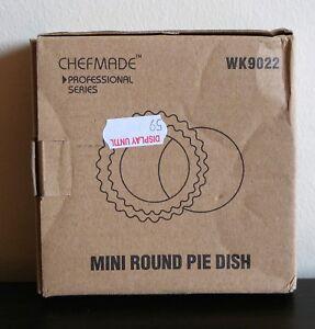 Professional Chef Made Non-Stick Round Tart Pan 4'' WK9022